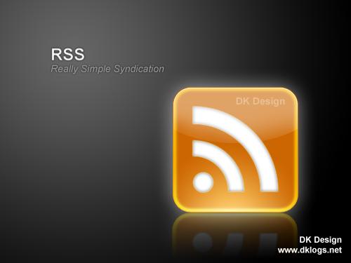 一个简单的质感RSS图标